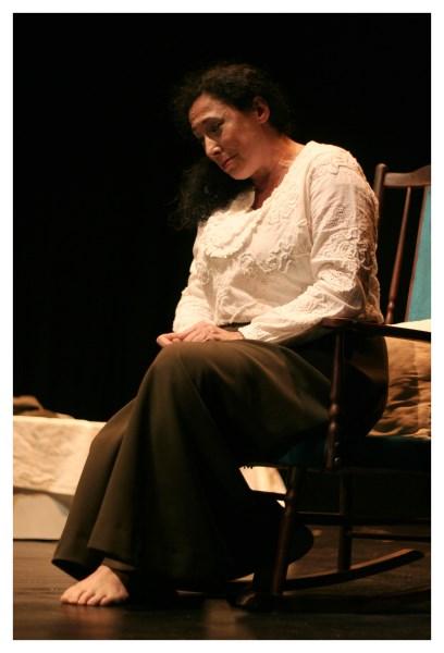 """Soledad Calvo, de la Compañía """"A Escena"""" de la A.C. """"Viento y Marea"""", premio a la mejor actriz d el IV Certamen de teatro """"Siete Llaves"""""""