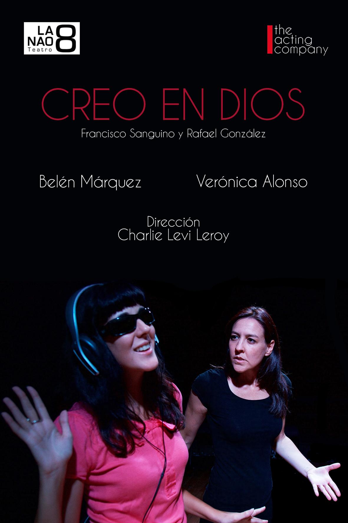 """""""CREO EN DIOS""""  en La NAO8 de Madrid."""