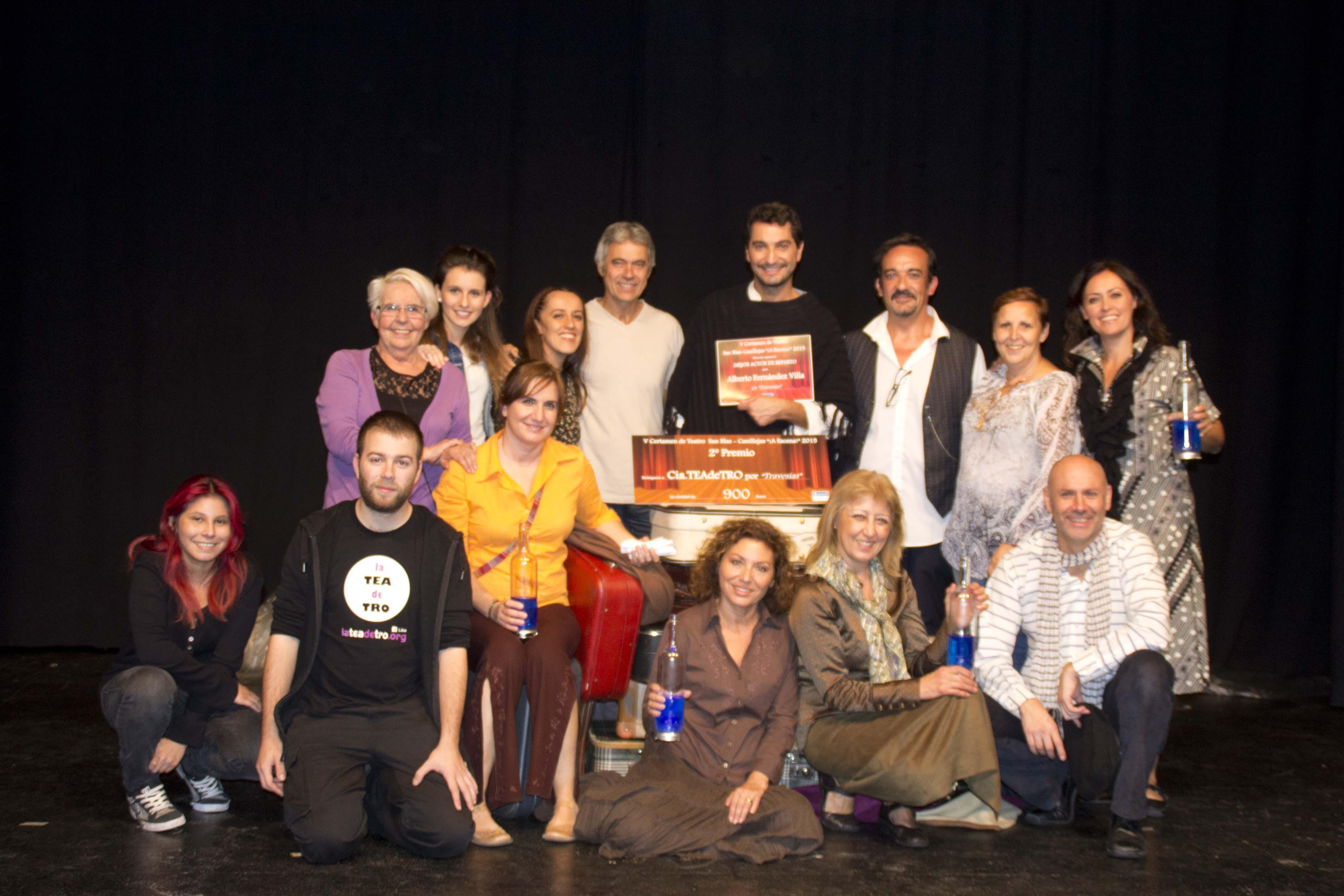 """2º Premio para LaTEAdeTRO en San Blas- Canillejas  """"A Escena"""""""