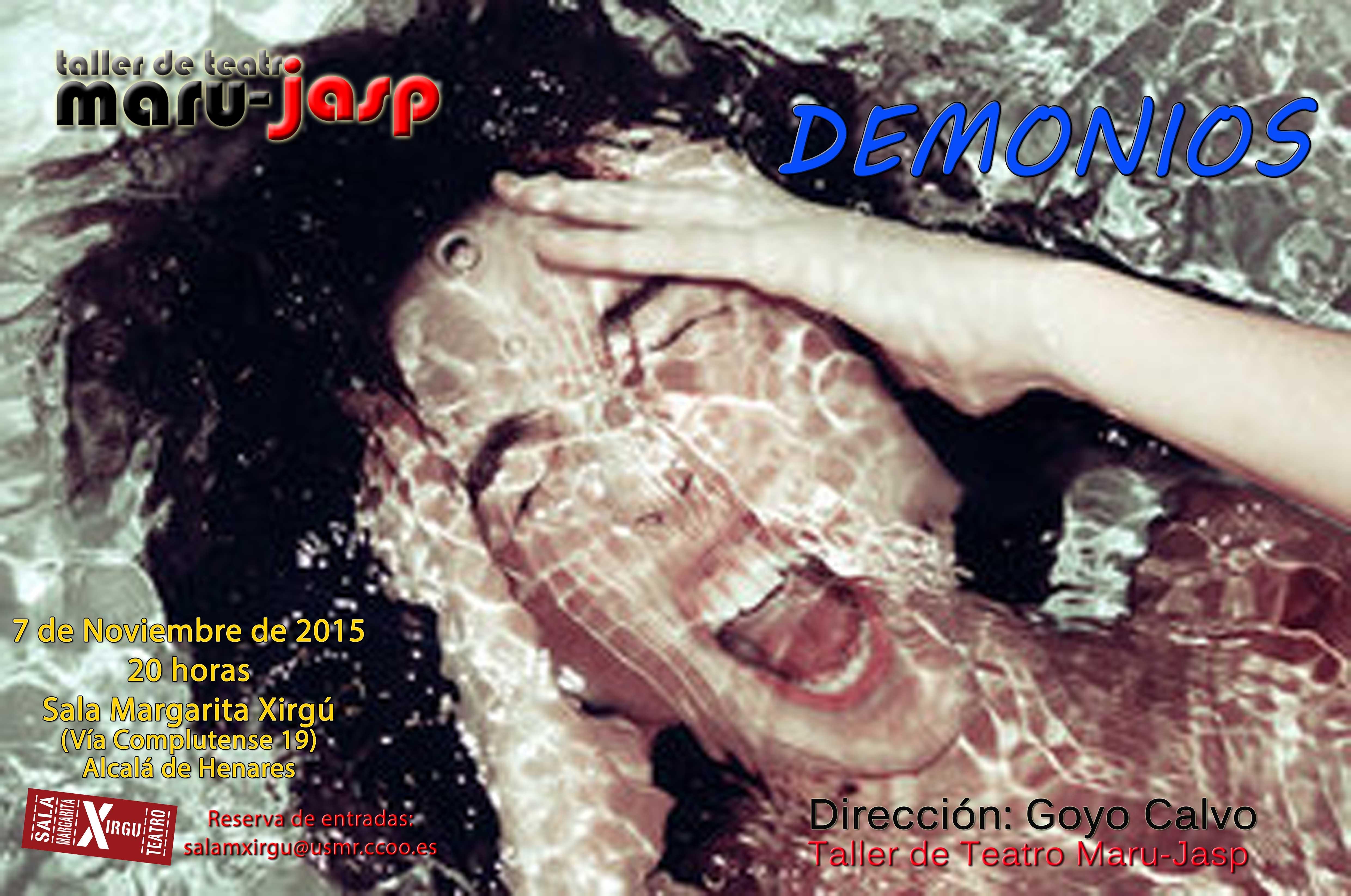 Este fin de semana doble cita con Maru-Jasp: DEMONIOS Y #MICROHENARES