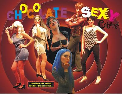 CARTEL CHOCOLATE SEXY 5 TEMPORADA