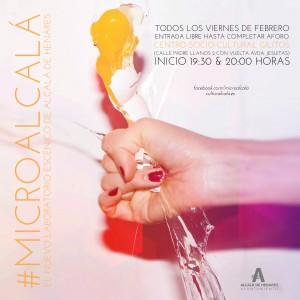 MARU-JASP estrena pieza breve en #Microalcala, todos los viernes de Febrero