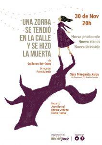 """¡Viernes día 30! Maru-Jasp reestrena """"Una zorra se tendió en la calle y se hizo la muerta"""" en Alcalá de Henares"""