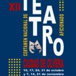 Bases del XII Certamen Nacional de Teatro Aficionado 'Ciudad de Olvera'