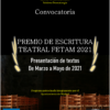 Premio de Textos Teatrales FETAM 2021