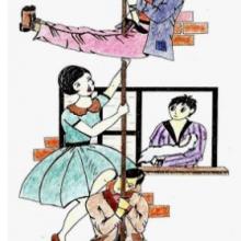 Augusto, diplomático de profesión, se ausenta de su piso por unos días. Aprovechando la circunstancia coinciden en su piso diversos personajes desconocidos entre sí: Jesús y Enrique, amigos del dueño; la pareja formada por Eduardo y Herminia; dos prostitutas: Faustina y Casilda; y unos ladrones: Luisa y Roberto. Todos ellos se enfrentarán a un problema inesperado: un cadáver cuelga de la chimenea. Deben deshacerse de él, pero no será tan fácil como esperan…
