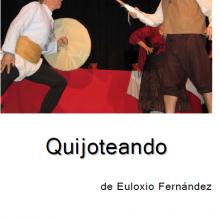 Cervantes es espectador de un cantar de ciego en el que se narra la clásica historia de los molinos, los habitantes de la venta, lejos de sentarse a escuchar la historia del ciego, deciden organizar una representación a partir de ella, generando así lo que conocemos como teatro dentro del teatro.
