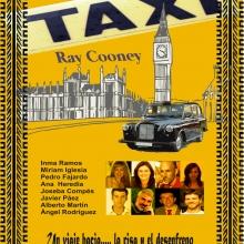 Ray Cooney, autor, productor y actor inglés, escribió TAXI (Run for your wife) en 1982. Lo estrenó con gran éxito en el West End londinense. Se trata de una comedia de enredo donde lo inverosímil toma cuerpo de verdad y el más absurdo discurso se convierte en dogma de fe. Cooney utiliza estereotipos cómicos infalibles, la tensión sexual, la infidelidad, la inteligencia de la policía y algún que otro guiño a la homosexualidad. El autor coloca a los protagonistas en un frenético vodevil cuyo único propósito es hacer reír. Y lo consigue. John Smith es un taxista con una vida aparentemente monótona. Un altercado con una ancianita a la que salva de un robo, da con sus huesos en el hospital y con su vida en la basura. El señor Smith lleva una doble existencia. Está casado con dos estupendas señoras que evidentemente nada saben la una de la otra. La intervención de la policía, la foto del héroe en los periódicos y la amable intervención de su vecino de arriba complicarán definitivamente esta agotadora vida de bígamo. El ritmo endiablado de la función ayuda a confundir al espectador, que viaja de Wimbeldon a Chelsea, sin tiempo para pensar en la disparatada trama que propone el autor. Disparatadamente loca, hilarante, que no da tregua a la relajación. Monten, pues, en este TAXI tan genuino, y comiencen una carrera hacia... la risa y el desenfreno.